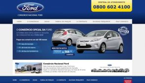 Website - Consórcio Ford